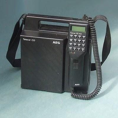第1世代移動通信システム(1G)
