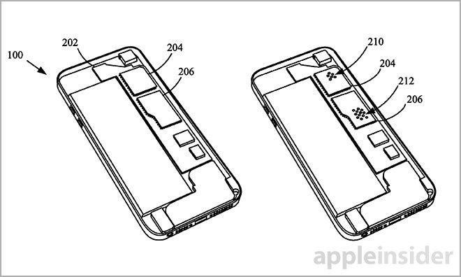 iPhone 防水特許