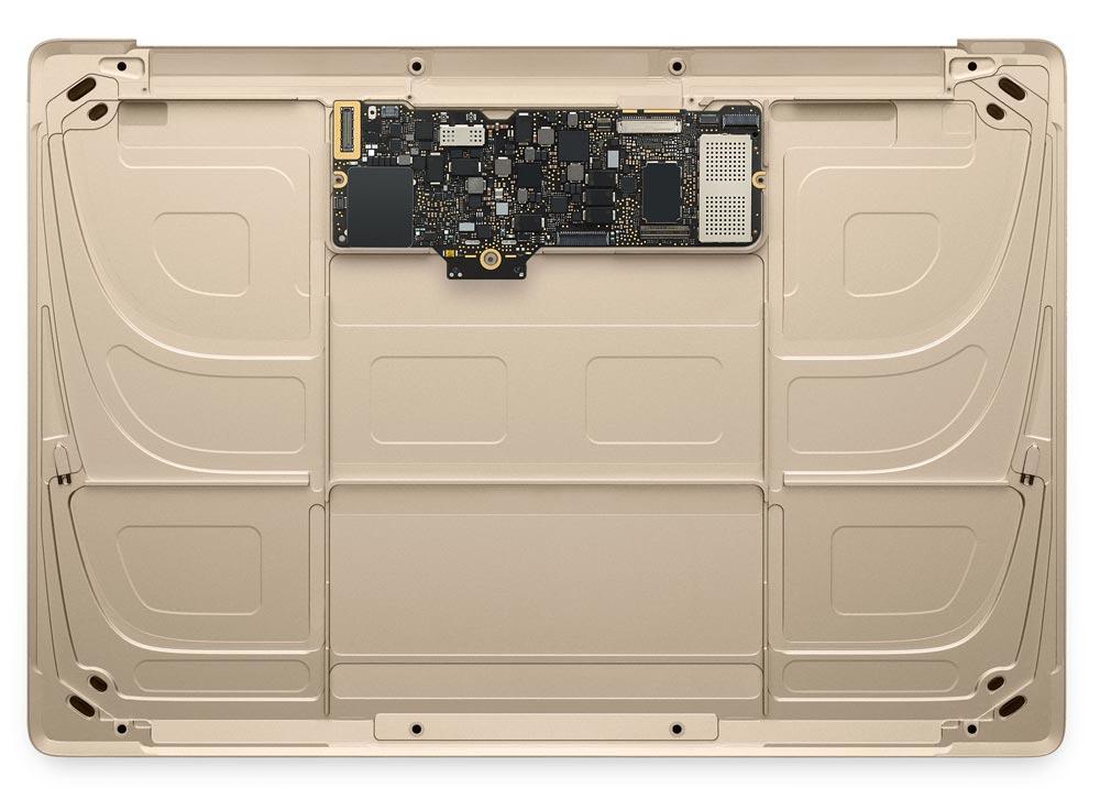 12インチMacBook ロジックボード