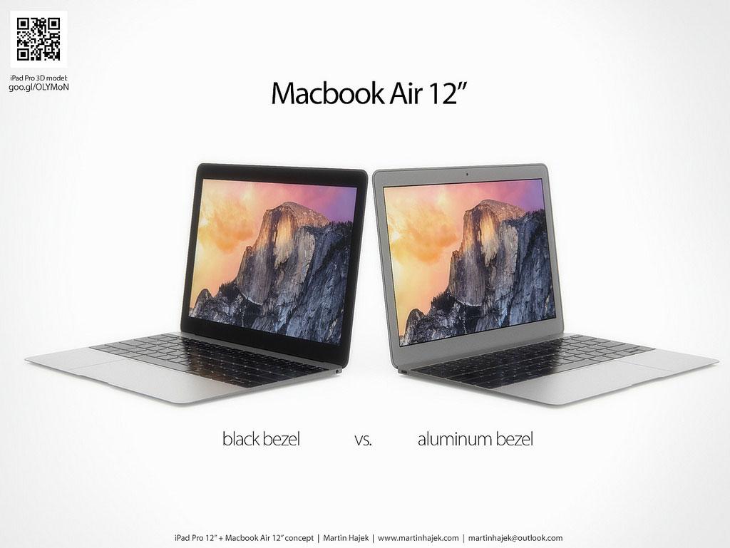 12インチMacBook Air ブラックベゼル