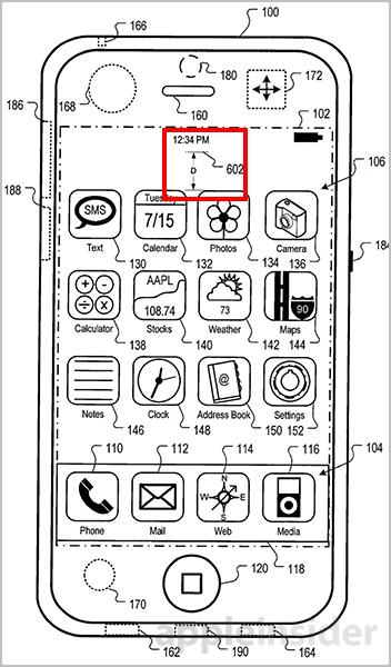 UI 可変 アップル特許