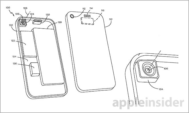 iPhone カメラ特許