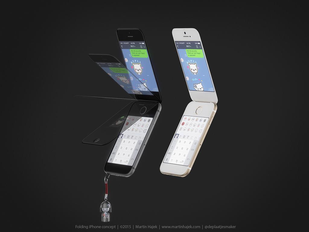 ガラケイPhone 6 ダブルスクリーン