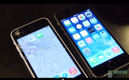 iPhone5s iPhone5c 落下試験