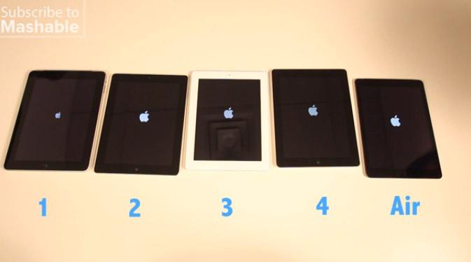 iPad 動作比較