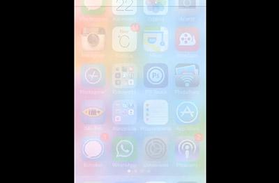 iOS7.0.3 視差効果オフ