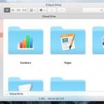 iCloud Drive ファインダー