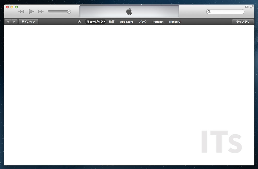 OS X 10.8 Mountain Lion iTunes