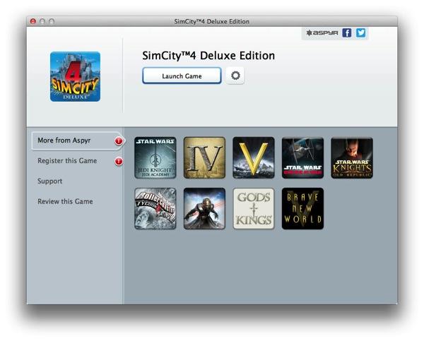 Mac App Store シムシティ4