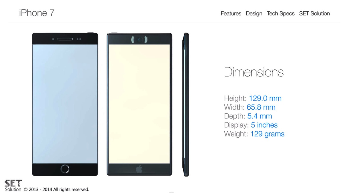 iPhone 7 コンセプト2