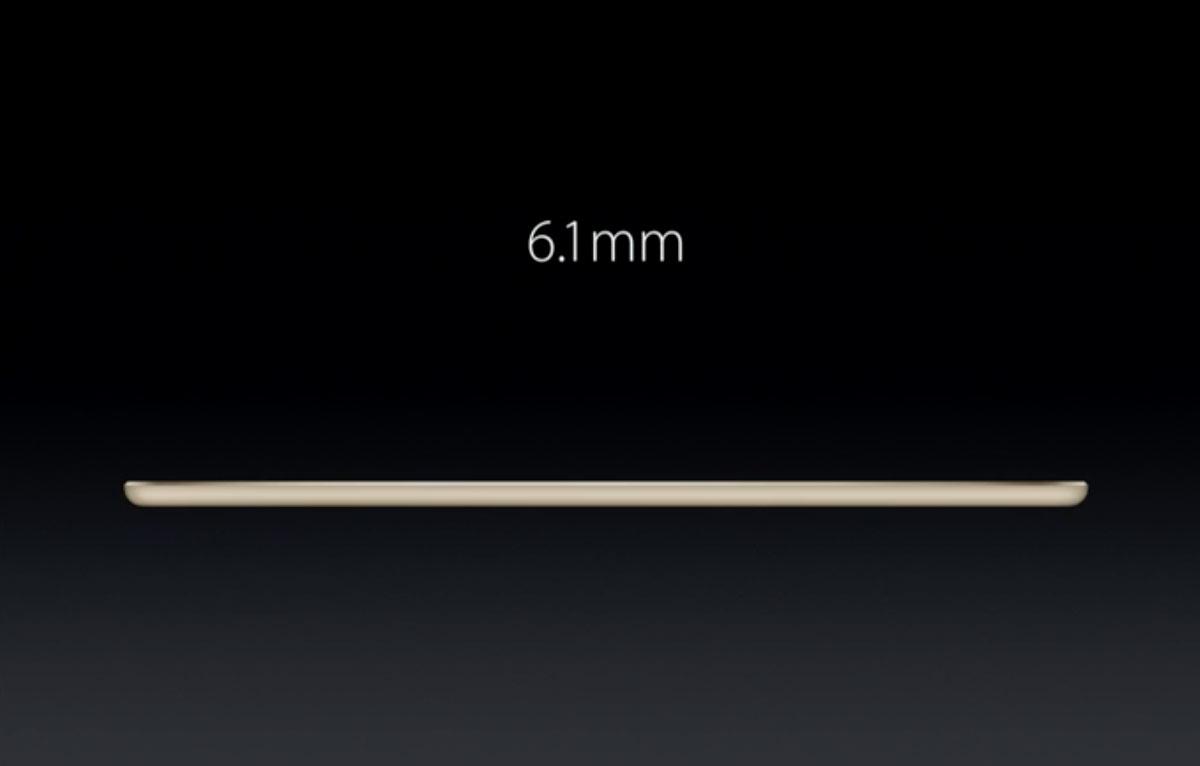iPad Air 2 厚み