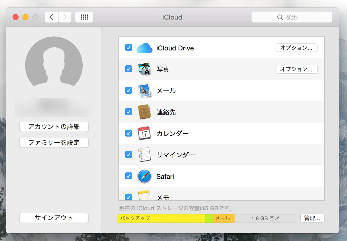 iCloud Drive 容量