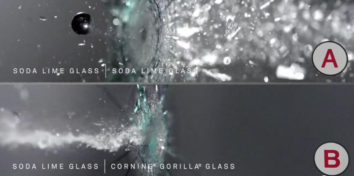 ガラス 衝撃耐久性