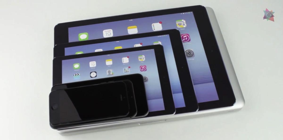 iPad plus 大きさの比較