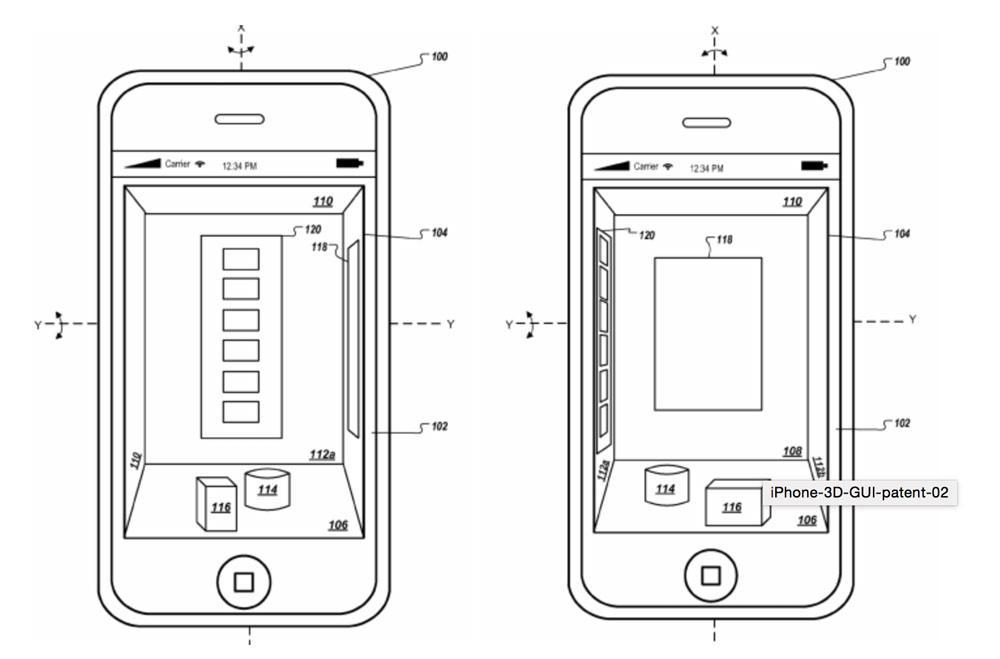 3Dディスプレイ iphone