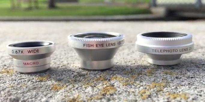 磁石付き レンズ