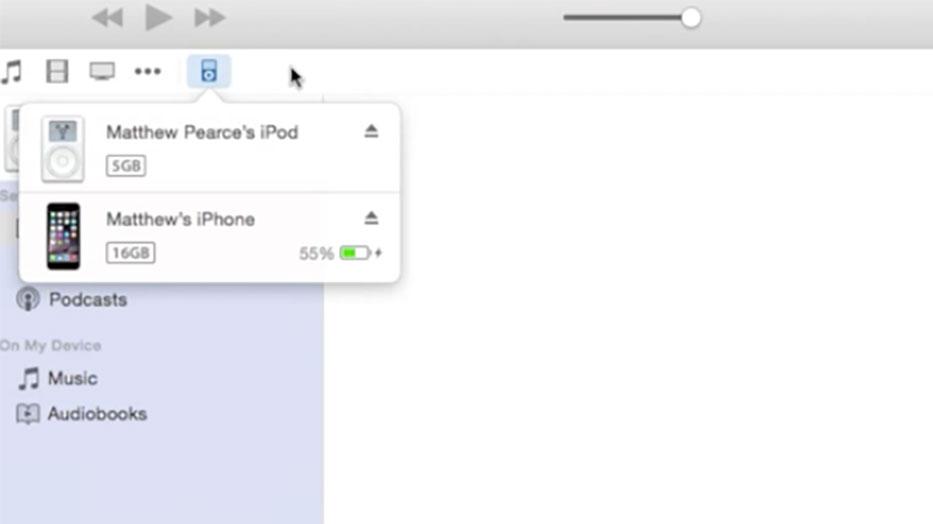 iTunes 12.1 初代ipod