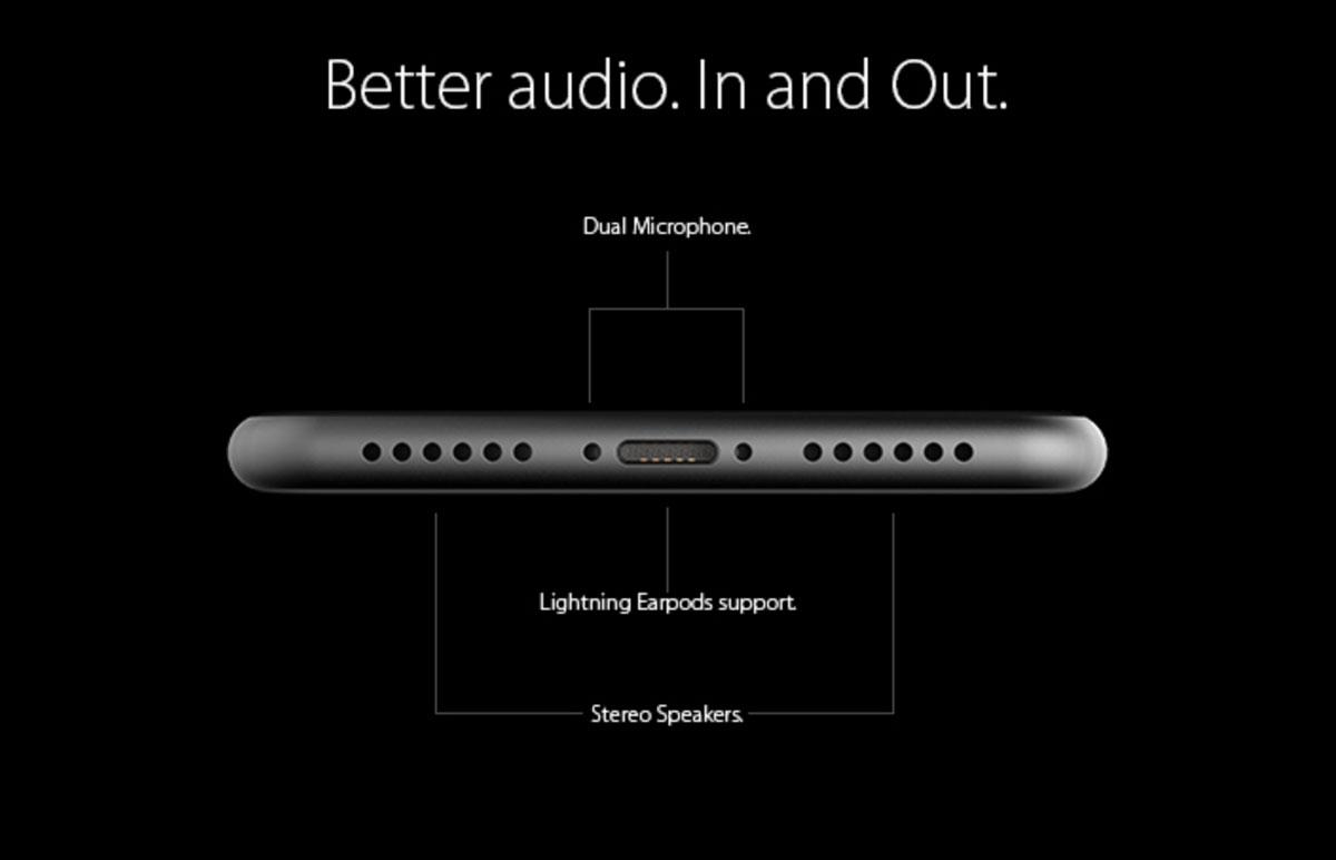 4インチ iPhone 6s コンセプトデザイン デュアルマイク