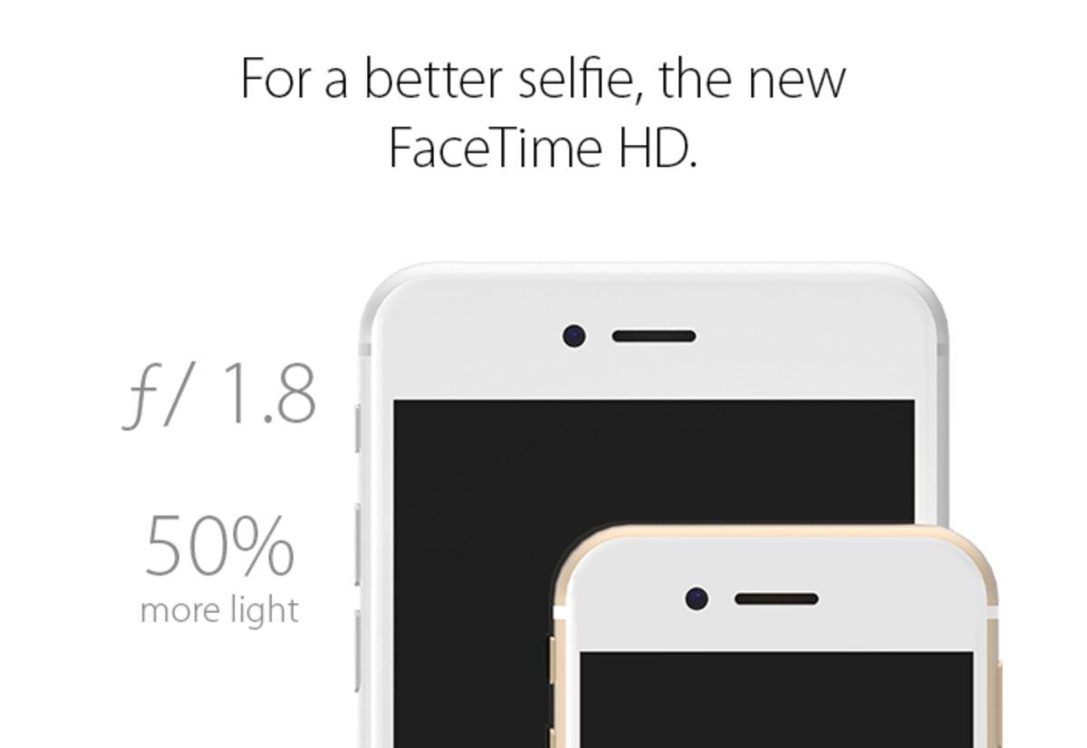 4インチ iPhone 6s コンセプトデザイン FaceTimeカメラ