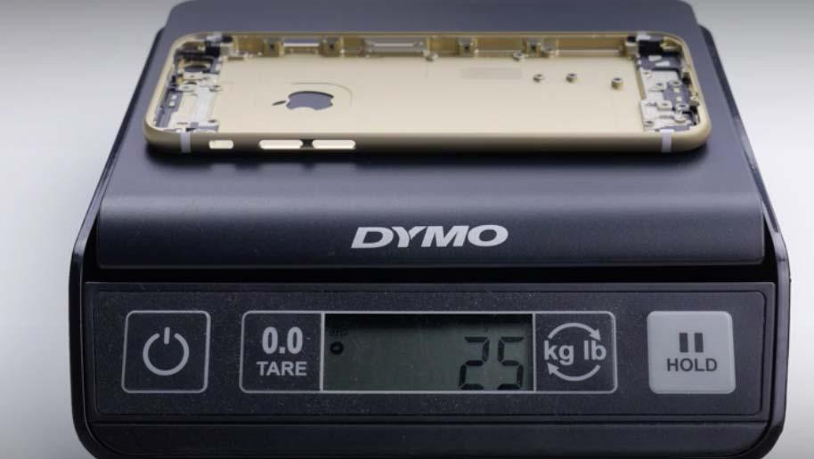 リアケース iPhone 6s 重さ