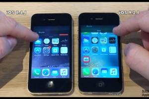 iOS9.2.1 vs iOS8.4.1