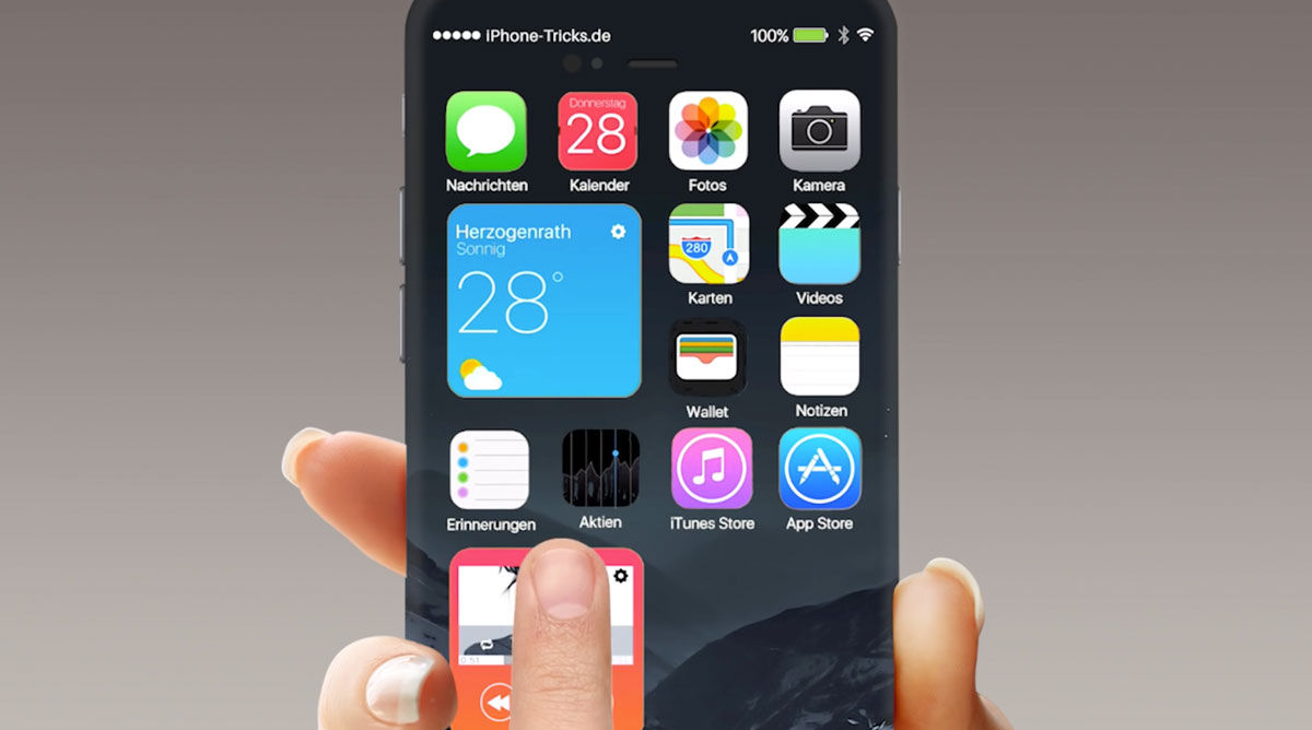 iPhone 7 iOS10 アイコン