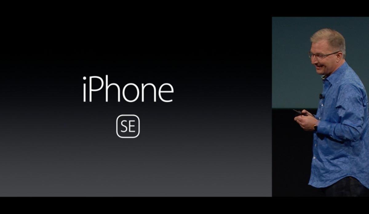 iPhone SE 発表