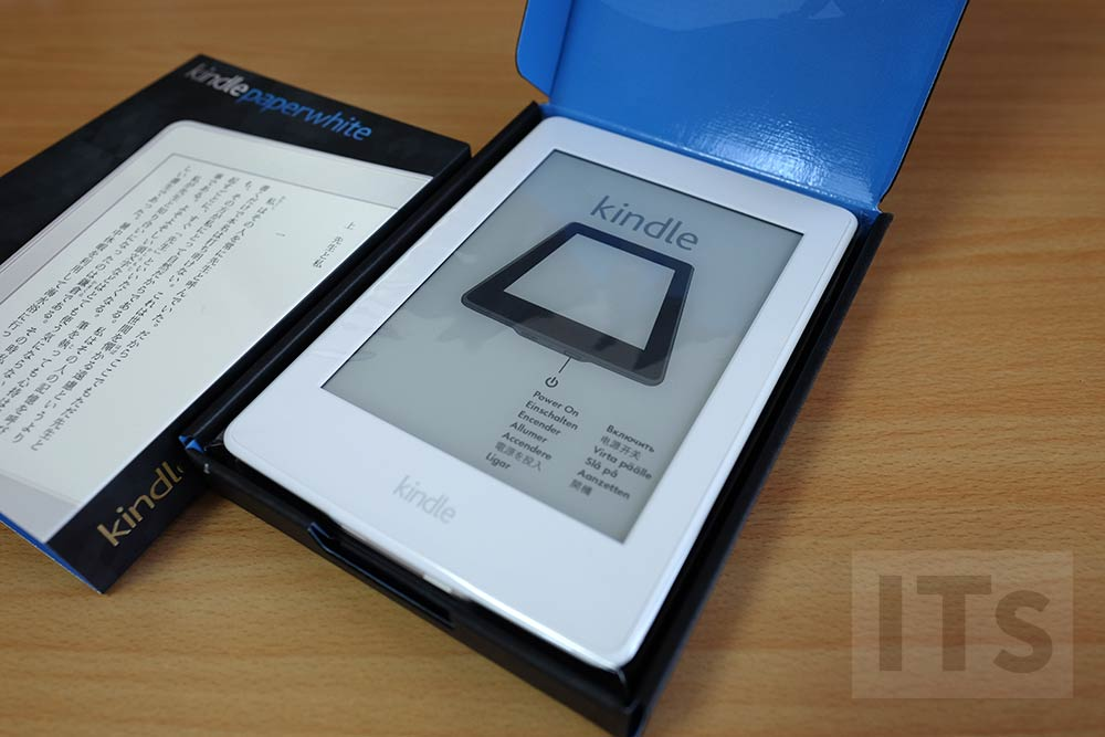 Kindle Paperwhite 梱包状態