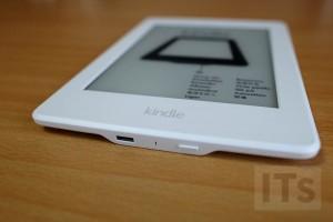 Kindle Paperwhiteの電源ボタン
