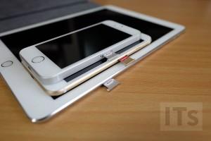 iPhoneとiPadのSIMカードスロット