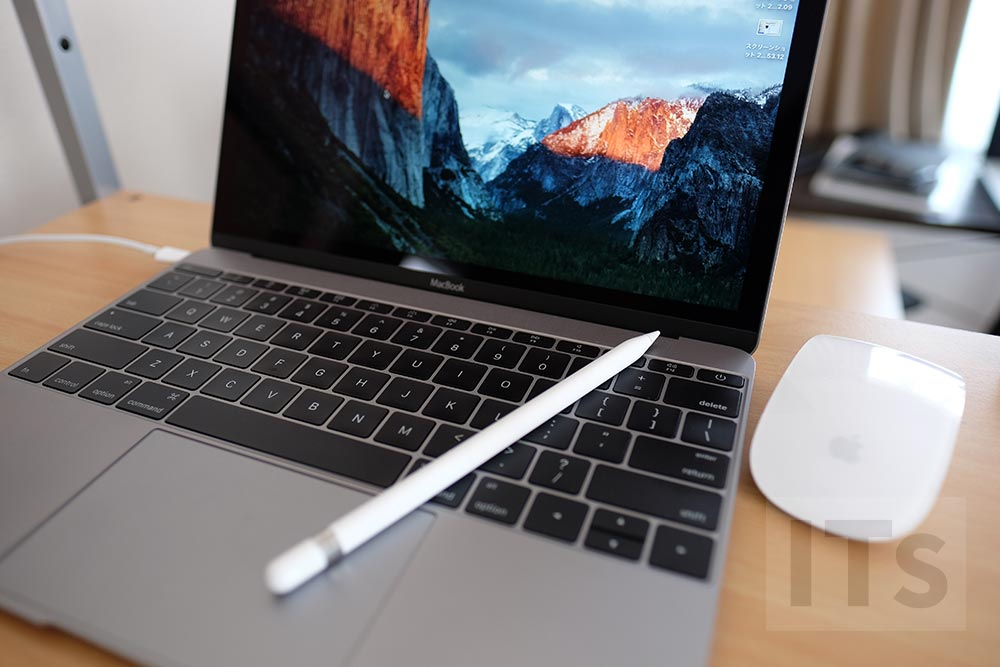 MacBookとApple Pencil