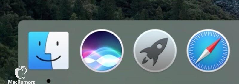 OS X 10.12 Siri