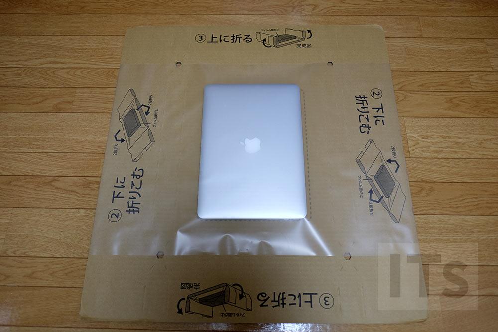 MacBookの梱包
