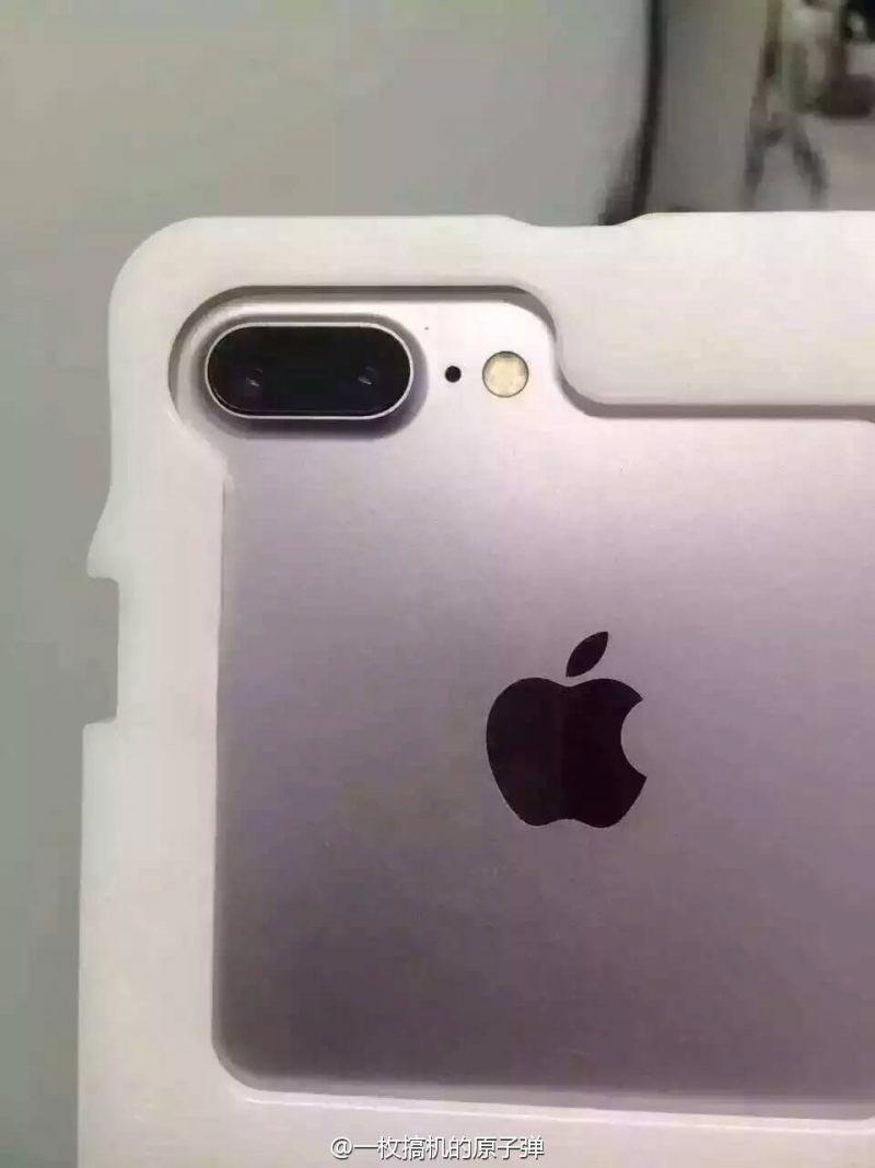 iPhone7 Plus リーク画像