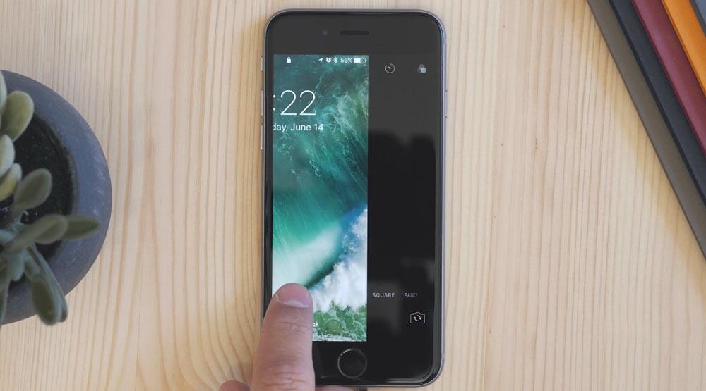 iOS 10 カメラの起動