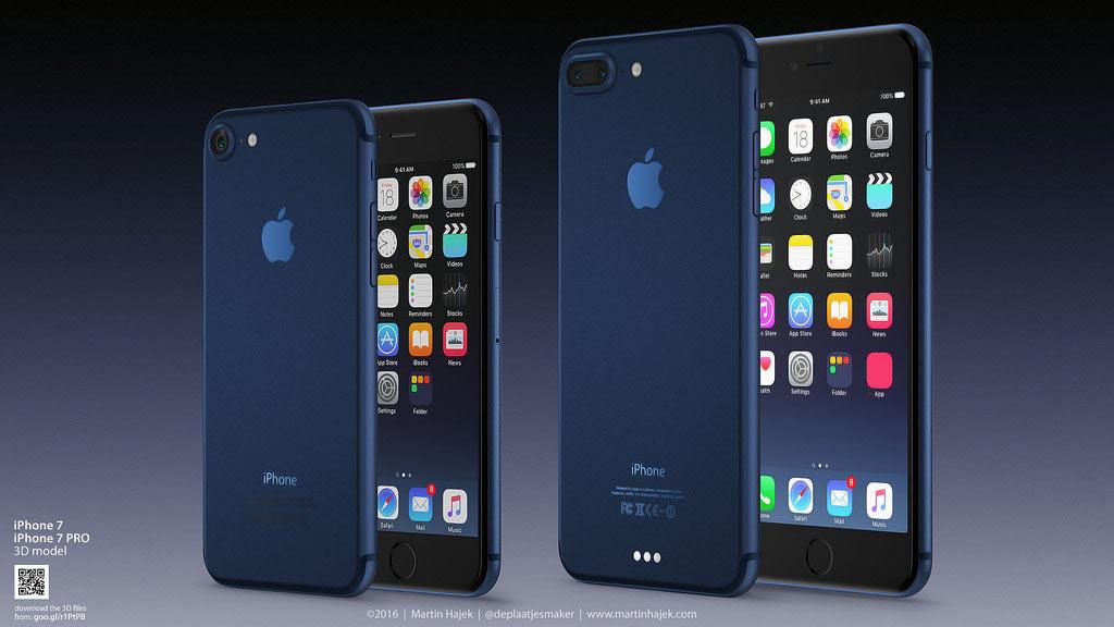 iPhone 7 ディープブルー