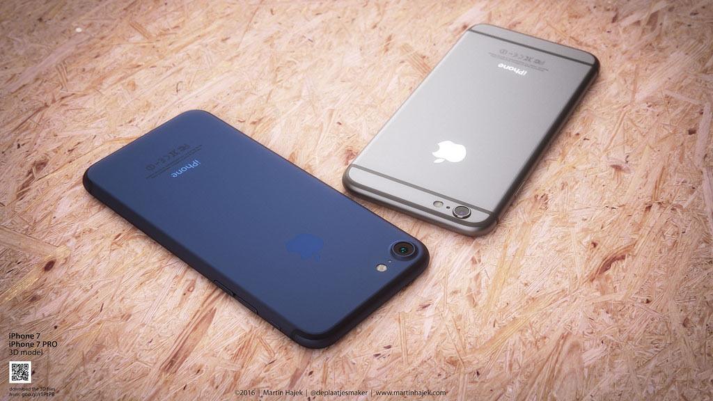 iPhone 7 Plus ディープブルー 予想