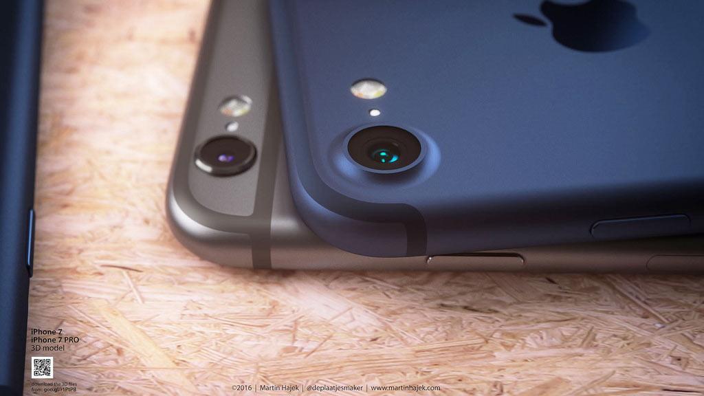 iPhone 7 Plus ディープブルー カメラ予想