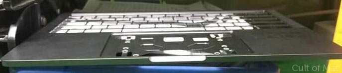 新型MacBook Pro キーボード