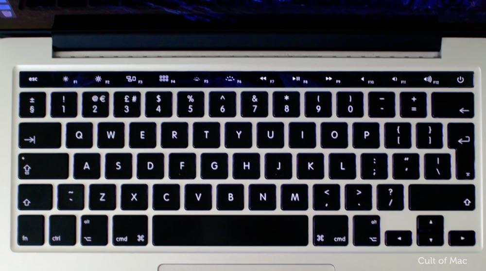 MacBook Pro タッチバー 予想