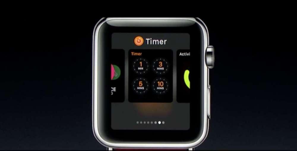 watch OS 3 マルチタスク