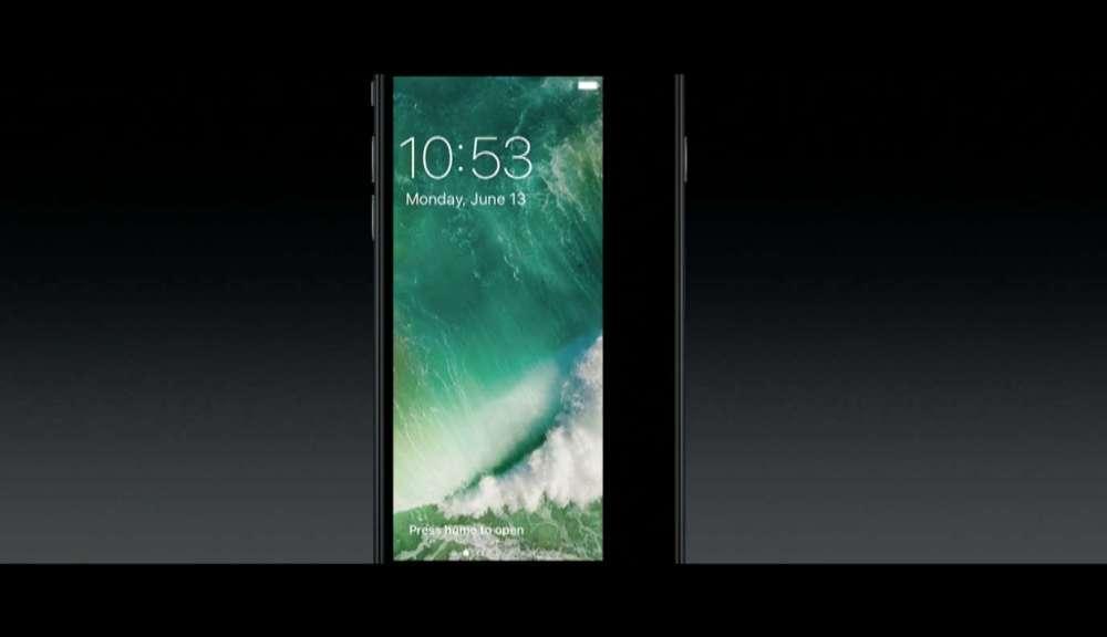 iOS 10 ロック画面からカメラ起動