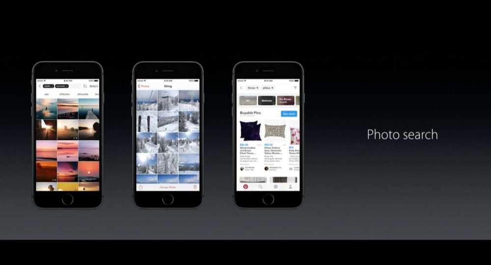 iOS10 Siri 写真検索