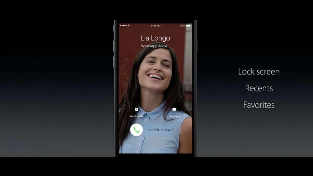 IOS10電話アプリ