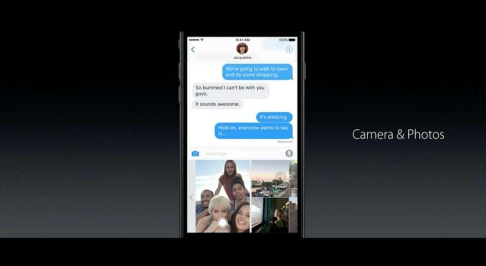 iOS 10 メッセージ