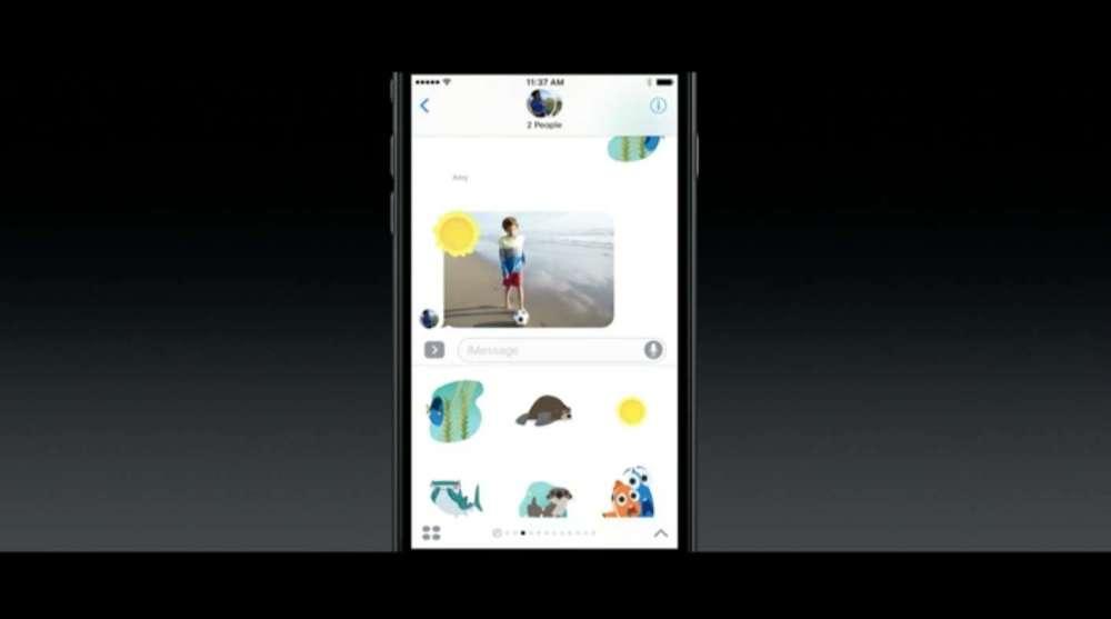 iOS 10 スタンプ