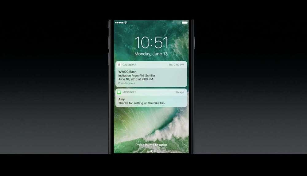 iOS 10 通知