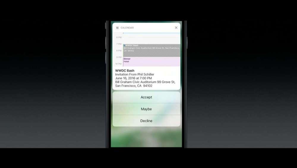 iOS10 通知から返信