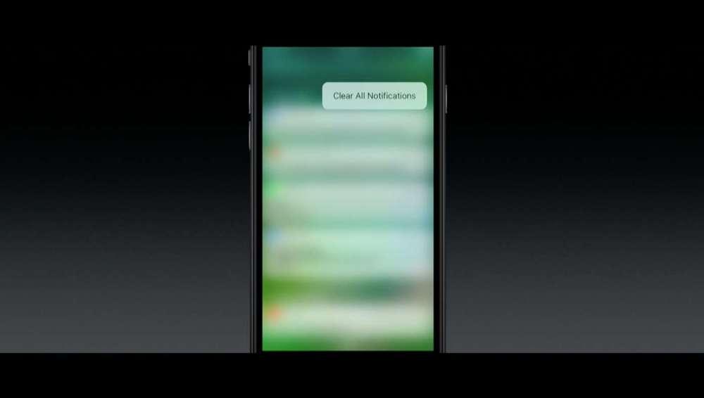 iOS 10 通知を全削除