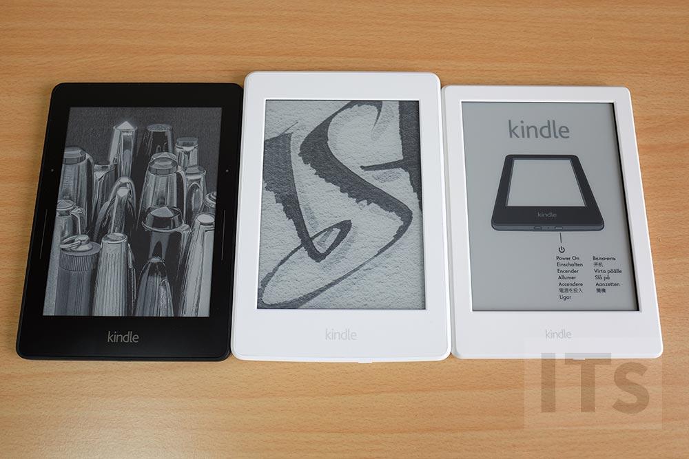 Kindle3兄弟の比較